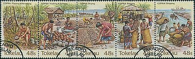 Tokelau 1984 SG103-107 Copra Industry set FU