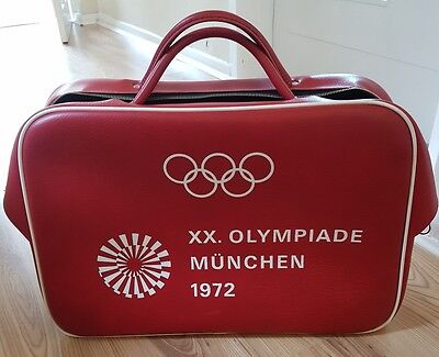 Original Vintage XX OLYMPIADE MÜNCHEN 1972 Zip Sports Bag Holdall