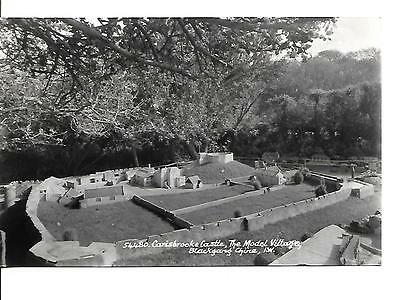 Postcard~ Isle Of Wight, Blackgang Chine, Model Village  VINTAGE    Unposted