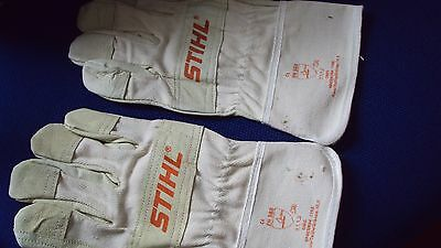 Bn. Stihl Chainsaw Protection Gloves Large