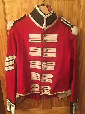 Napoleonic Sergeant's Red Coat Uniform