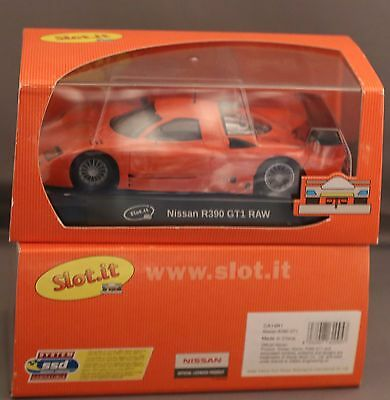 Nissan R390 GT1 Racing Anglewinder EVO 6 slot car released by Slot.it ca14R1