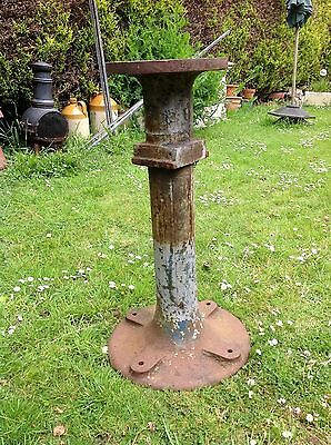 Vintage Cast Iron Vice / Grinder Stand