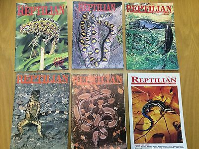 The Reptilian Magazine x 6 issues