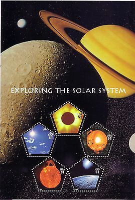 Usa 2000 'stamp Expo 2000' Exploring The Solar System Stamps Mnh