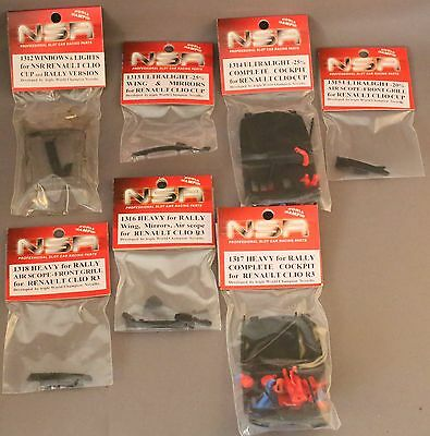 NSR body parts see photo and list 7 packs