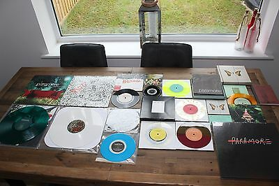"~ Paramore ~ Huge Collection ~ Many Rare Items ~ LP ~ Box Sets ~ 7"" Singles ~"