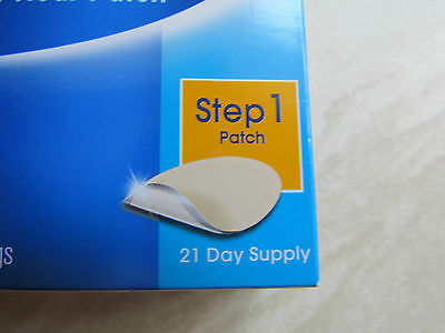 Nicotinell Nicotine 24 Hour Patch 21 mg 21 Day Supply (7x3)  NEW