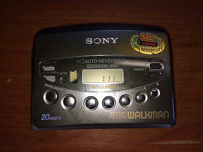 Sony Cassette Walkman WM-FX455