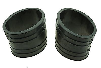 2 Pieces of 4 inch Exhaust Bellows for Mercruiser replaces 32-14358001 32-14358T