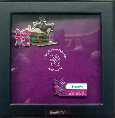 London 2012 Olympics Equestrian Eventing Venue 2 Pin Badge Set