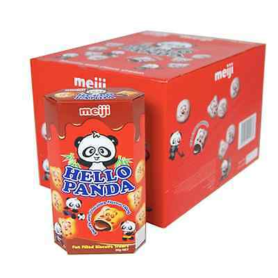 Meiji Hello Panda Chocolate (Box 10 X 50G)