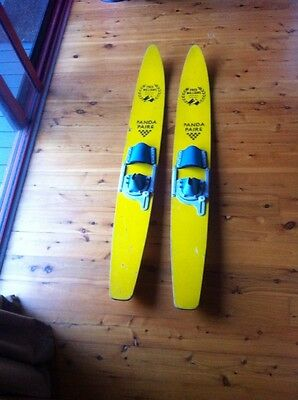 Fred Williams Water skis Water Sports, For The Collecters, Panda Pairs,,