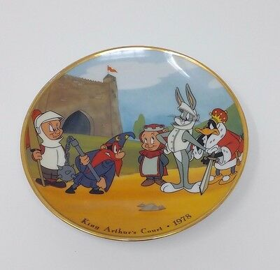 BUGS BUNNY & DAFFY DUCK and PORKY PIG COLLECTOR PLATE 1993 WARNER BROS RARE