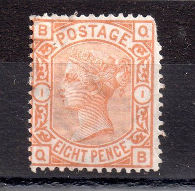 GB QV 8d orange  Mint MH spacefiller JN52