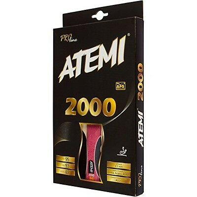 Atemi 2000 Pro Line Table Tennis Bat - Allround+ Competition Level Racket