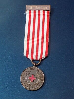Irish Red Cross 50 years Long Service medal, Named RARE +box