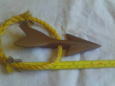 Vintage Brass Harpoon and Shaft