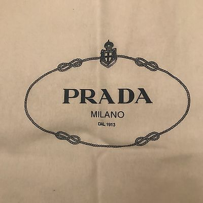 100% Authentic Prada Dust Cover With Drawstring - Size 59 X 48cm