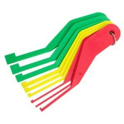Lisle 81880 Combination Brake Lining Thickness Gauge Set