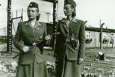 WW 2 ~ German  Photo ~~ Concentration Camp Female Guards