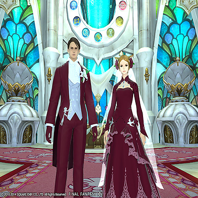 FINAL FANTASY XIV FFXIV FF14 Eternal Bond Promise of Passion (Gold)