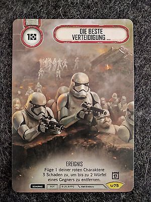 Star Wars Destiny Die Beste Verteidigung The Best Defense Promo 2017