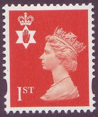 Northern Ireland NVI 1st Class GB Machin NI88 - Perforation 14 From SBD PSB - UM