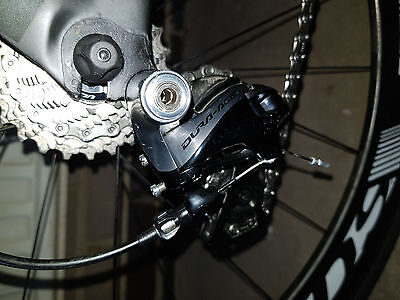 Shimano Dura Ace 9000 Front and Rear Mechanical Derailleurs 140GBpounds for both