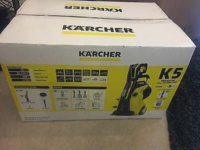 karcher k5 premium full control plus pressure washer 145 bar 240v picclick uk. Black Bedroom Furniture Sets. Home Design Ideas