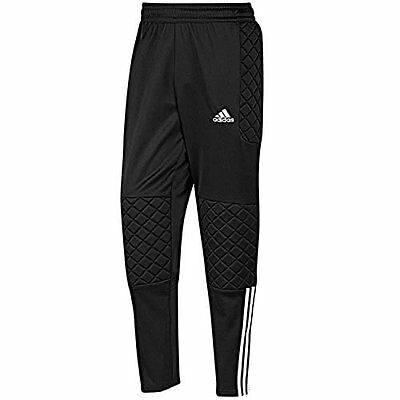 Adidas Tierro Clima365 Gk Padded Long Pant Black/white - Mens Size: Us M