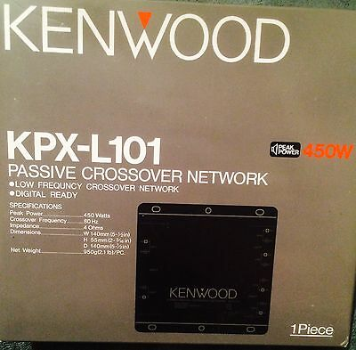 Kenwood KPX-L101 Passive Crossover Network Peak Power 450W &Manuals.(brand New)