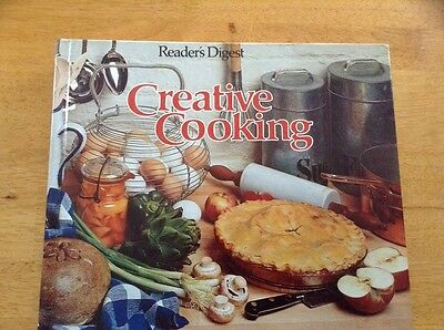 Creative Cooking by Reader's Digest Vintage 1978 Cookbook Hardcover  GUC!
