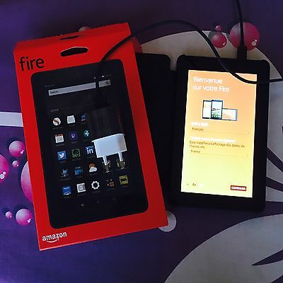 Kindle Fire HD7 en EXCELLENT ETAT + étui noir