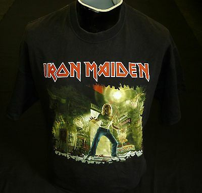 Iron Maiden The Early Days T Shirt ( Rare ) Size Xl