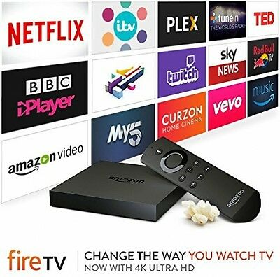Amazon Fire TV With 4K Ultra HD   Streaming Media Player