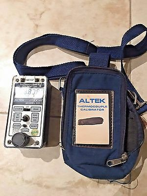 ALTEK THERMOCOUPLE CALIBRATOR MODEL 322-1 (J,T,E,K,mV) w/Case