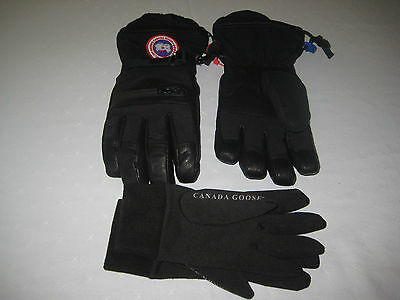 Canada Goose Men Northern Glove Down  Leather Waterproof Removeable Liner Medium