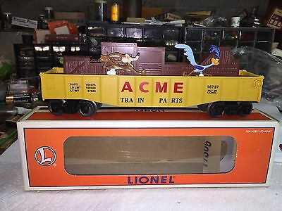Lionel Warner Brothers Road Runner +Wile Coyote Animated Gondola 6-16737