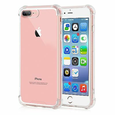 Crystal Case Silicone/Rubber/Gel Soft Transparent Cover For iPhone  7 clear 4.7