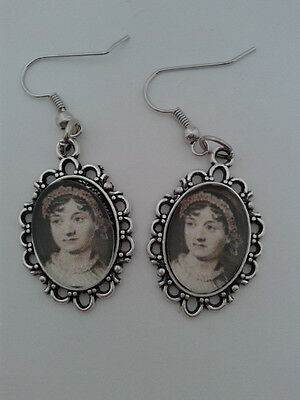Jane Austen Drop Earrings