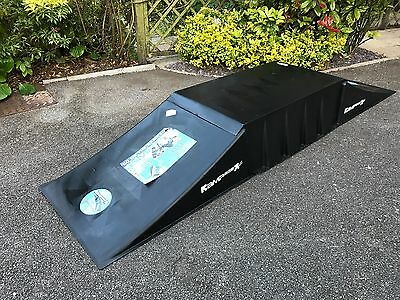 Large Double Rampage Ramp with Bridge - Excellent condition