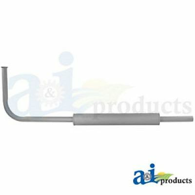 Horizontal Exhaust Muffler & Pipe Assembly Fits Ford Tractors 9N 2N 8N