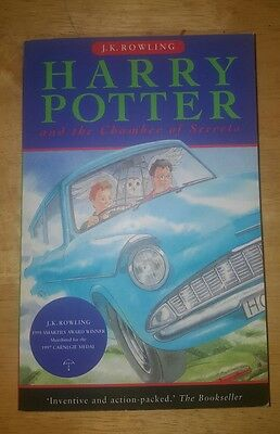 Harry Potter and the Chamber of Secrets by J. K Rowling 2000 Softcover NEW