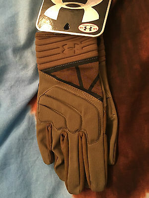 Under Armour Tactical Duty Gloves Coyote Tan LARGE UA TACTICAL
