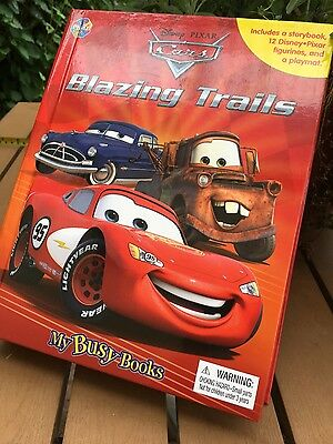 disney pixar cars blazing trail book with playmat and 10 figurines
