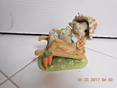 "My Blushing Bunnies ""Springtime Blessings"" 156965 Collectible 1995"