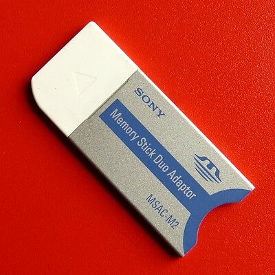 Sony Memory Card Adapter MSAC-M2 - Convert Pro Duo to Full Size Memory Stick