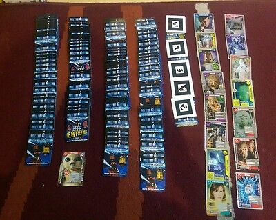 160 Doctor Who Monster Invasion card bundle. Including rare cards. Amazing LOOK!