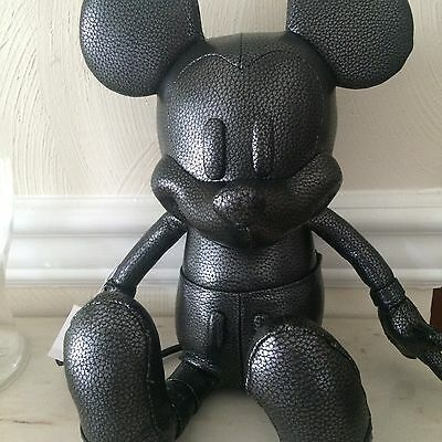 New DISNEY Coach 59151 Small MICKEY Doll Leather Black Limited Edition!  $500